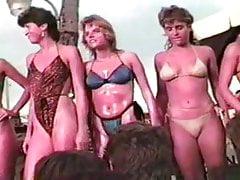 Candy Store Bikini Contest Fort Lauderdale Floryda 2-28-86