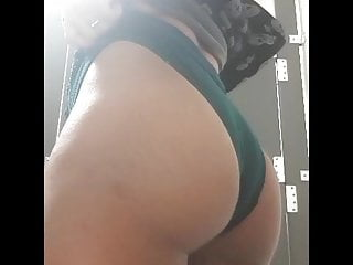 Pov Big Ass Bikini video: Sexy Miss Booty red Hump Day video