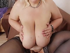 Jessy Sexy German BBW Strip Tease # 1