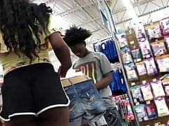Netter schwarzer Teenagerarsch