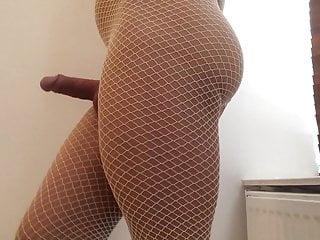 سکس گی Close up white fishnets . hd videos crossdresser  big cock  amateur