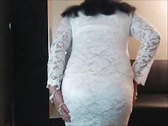 White Lace Dress 2 | Porn-Update.com