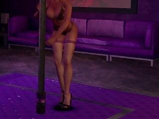 Cosplay Hd Videos video: Hot 3D Girl Dancing