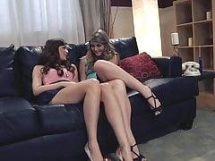 Świetna scena lesbijska