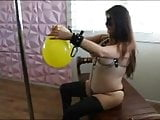 Balloon fun with Ms Odyssey