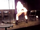 Topless dancer and singer. Nyc. Talent show