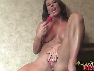 Muscular Porn Star Ariel X Fucks Her Pussy