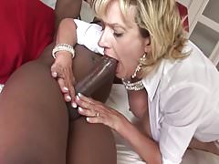 Lady Sonja vs Big Black cock