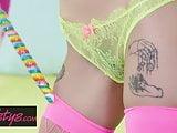 Alex De La FLor - Candy Warhol - Twistys