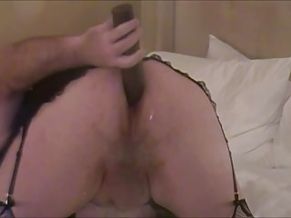 Lingerie Shemale Solo Shemale Big Ass Shemale video: New Toy