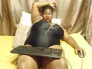 Black bbw Monster tits  webcam