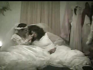 Strapon Femdom Lesbian video: Lesbian Dildo Brides Carolyn & Sexy Desiree Honeymoon Night
