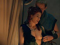 Jaime Murray Nude Sex Scene In Spartacus Gods Of The Arena
