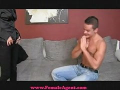 FemaleAgent Accidental Casting Creampie