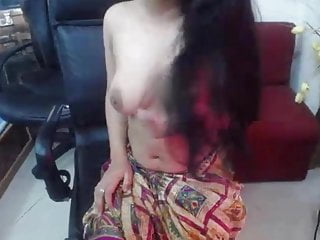 Softcore Webcam video: saniham topless