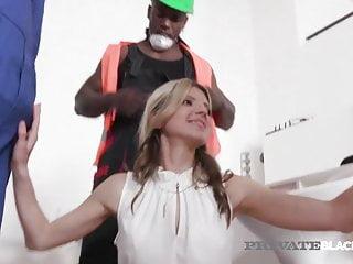Interracial Hardcore Black video: Private Black - BBC Lover Gina Gerson Fucks 4 Black Cocks!