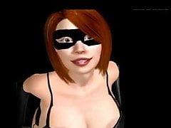 Elastigirl mamma del sesso virtuale 1