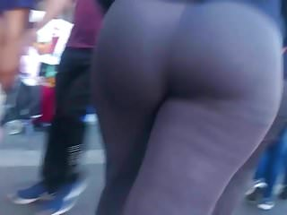 Voyeur Big Ass Latina video: Amazing Asses after work: Loved the Bubble Butt Jiggle