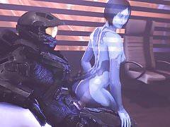 Master Chief y Cortana se reúnen