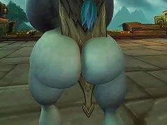 Zandalari troll shaking it pt2