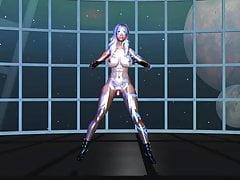 Skyrim danse sexy -Mozaik Role- HDT (futanari)