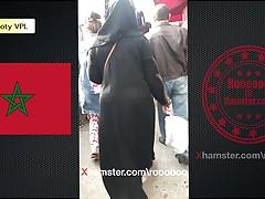 Maroko booty VPL (hidżab i abaya)