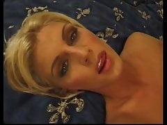 Blonde fucked in nylons