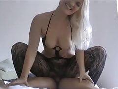 ein schönes Sex-Cowgirl