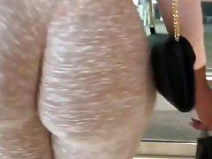 Arabischer großer runder Arsch