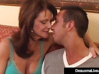 Matures Milfs Big Tits video: Mature Housewife Deauxma Jets Her Juice When Fucked In Ass!