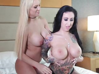 Tits Big Tits Smothering video: Tit Smothering Lesbians