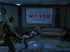 Fallout 4 Katsu sex dobrodružství chap.11 Supermutantní zbraň