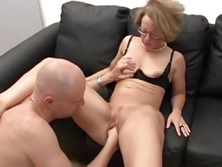 Matures German Double Penetration video: Mature German Secretary Fucked & Fisted