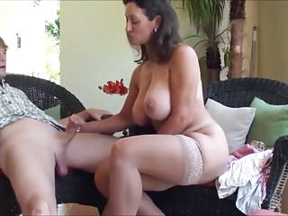 Milfs Bbw Mom video: Stepmom Teaches some Tricks (Recolored)