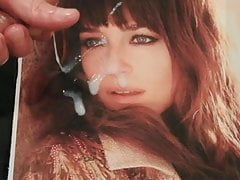 Dakota Johnson tribute cum pic 50 shades of grey