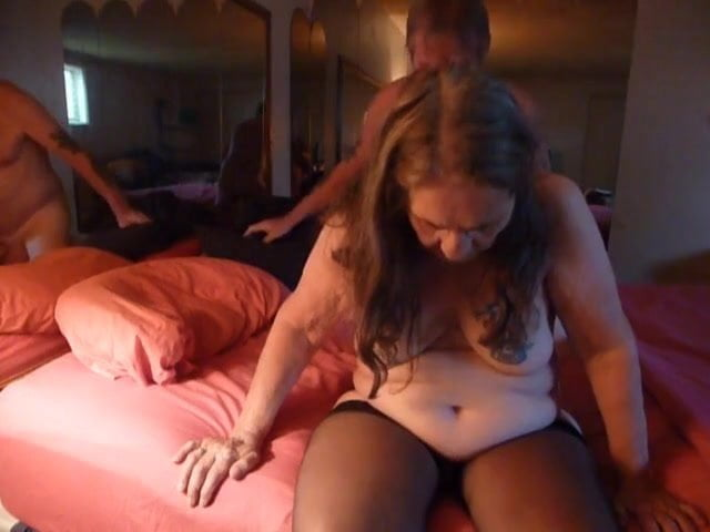 .fucking using my husband for my birthday fuck with nylons.