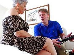 AgedLovE reifen Savana mit Marc Kaye gefickt