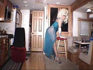 Masturbation Shemale Lingerie Shemale Solo Shemale video: mature tranny solo