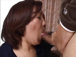 Matures Asian Japanese video: JAPAN MATURE BJ 18
