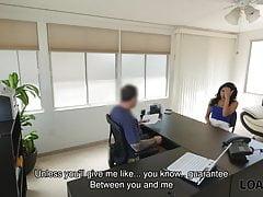 LOAN4K. Loan Agent Organizes Porn Casting For Amateur...