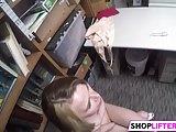 Nailing Foxy Teen Shoplifter Alina