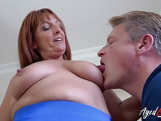 Tits Milf Mature video: AgedLovE Horny Milf enjoying Rough Hardcore Sex