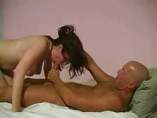 Amateur - Big Naturals Babe has a new BF - Hubby Films