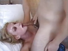 Tyłek do gardła POV z Slutty Blonde