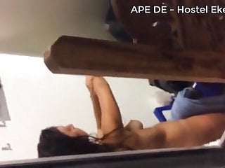 Sri lankan hidden cam in hostel