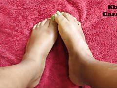 Anteprima di adorazione dei piedi di ebano