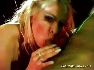 Latin wild parties fuck sex deep...