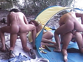 real beach groupsex party german
