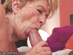 LustyGrandmas – Vintage GILF Wants A Big Dick In Her Bush
