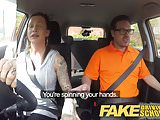 Fake Driving School Advanced horny lesson in sweaty mess